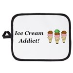 Ice Cream Addict Potholder