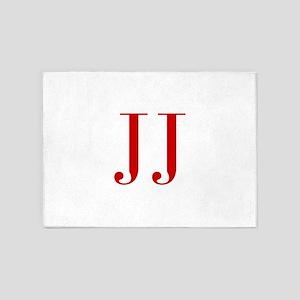 JJ-bod red2 5'x7'Area Rug