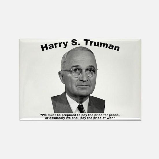 Truman: Price Rectangle Magnet