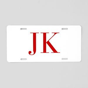 JK-bod red2 Aluminum License Plate