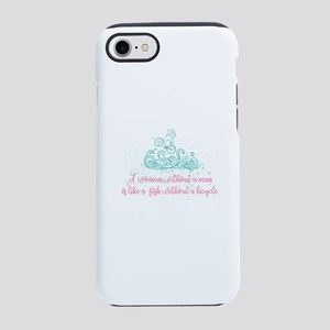 without a man iPhone 7 Tough Case