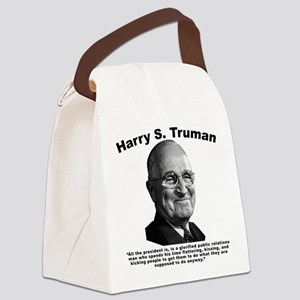 Truman: President Canvas Lunch Bag