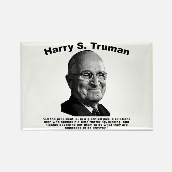 Truman: President Rectangle Magnet