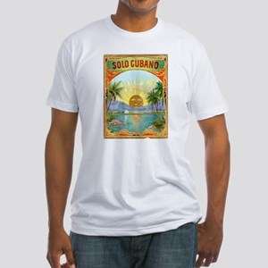 Solo Cubano Art Fitted T-Shirt