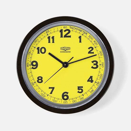 Vanguard Submarine Wall Clock