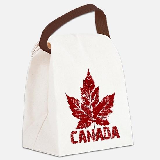 Cool Canada Souvenir Canvas Lunch Bag