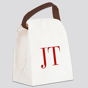 JT-bod red2 Canvas Lunch Bag