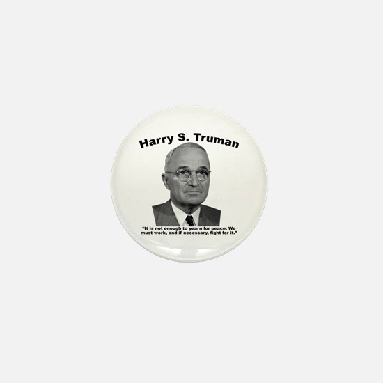 Truman: Peace Mini Button