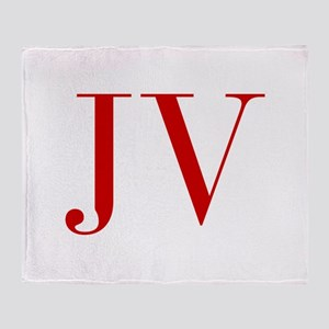JV-bod red2 Throw Blanket