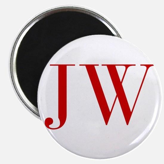 JW-bod red2 Magnets