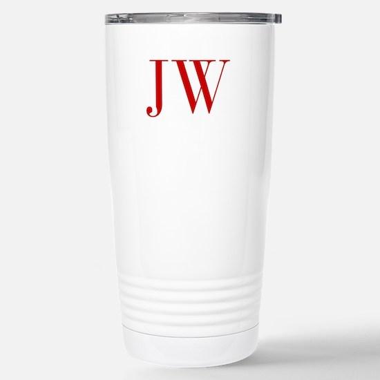 JW-bod red2 Travel Mug