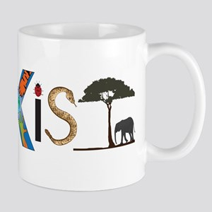 Coexist with Animals Mugs