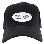 Muffin Addict Black Cap