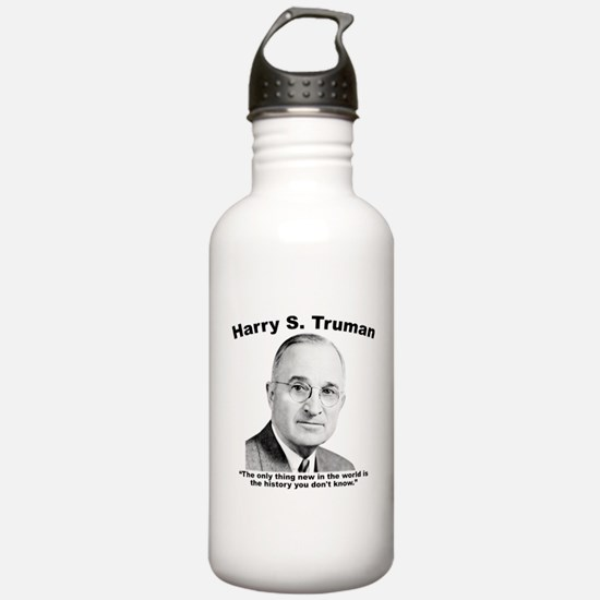 Truman: History Water Bottle
