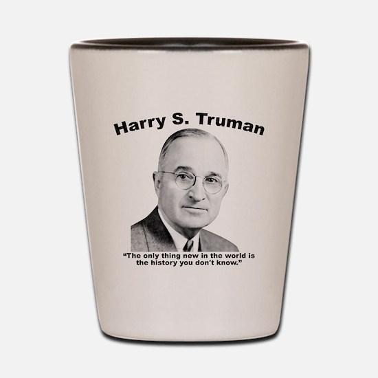 Truman: History Shot Glass