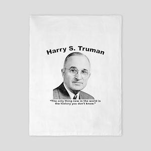 Truman: History Twin Duvet