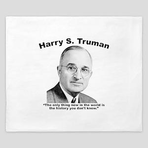 Truman: History King Duvet