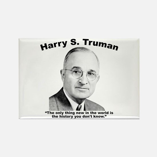 Truman: History Rectangle Magnet