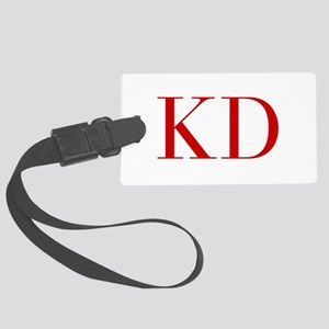 KD-bod red2 Luggage Tag