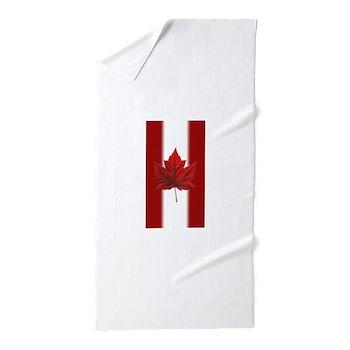 Canada Flag Souvenir Beach Towel
