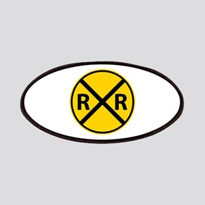 Railroad Crossing Patches