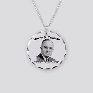 Truman: Hell Necklace Circle Charm