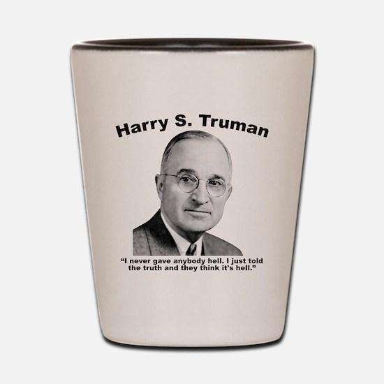 Truman: Hell Shot Glass