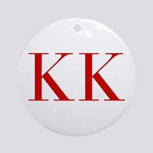 KK-bod red2 Ornament (Round)