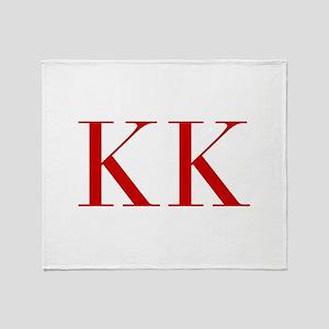KK-bod red2 Throw Blanket