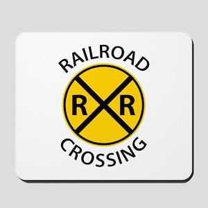 Railroad Crossing Mousepad