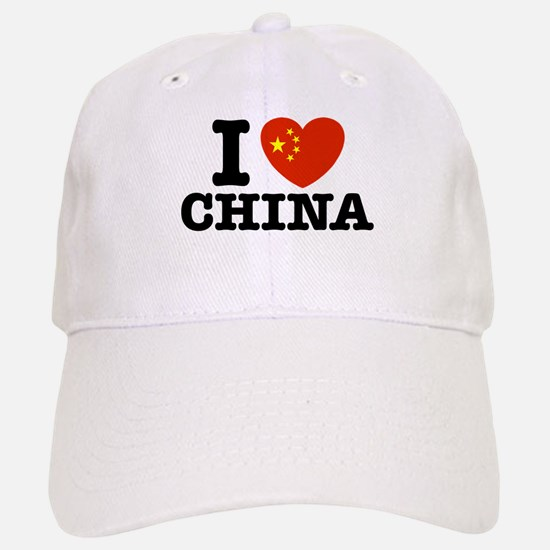 I Love China Cap