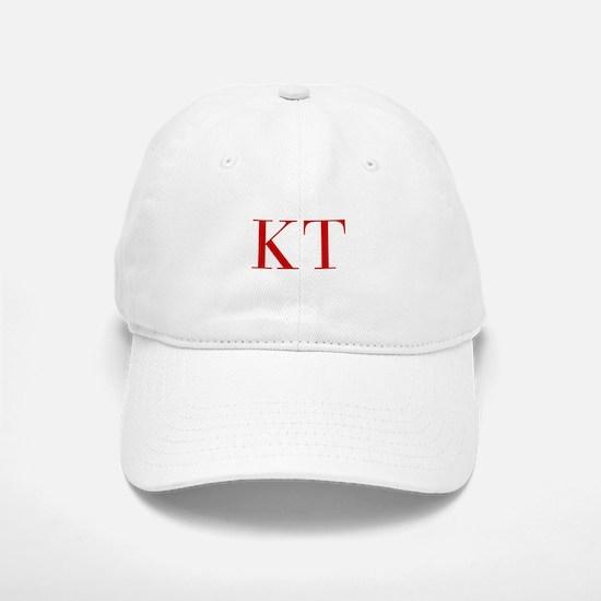 KT-bod red2 Baseball Baseball Baseball Cap