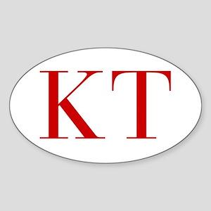 KT-bod red2 Sticker