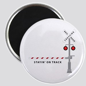 Stayin' On Track Magnets