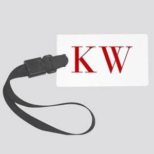 KW-bod red2 Luggage Tag