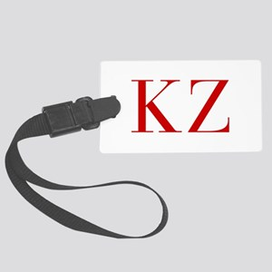 KZ-bod red2 Luggage Tag