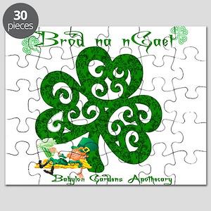 Irish Pride Paddy's Day Puzzle