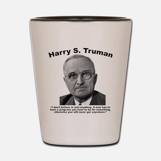 Truman: Program Shot Glass