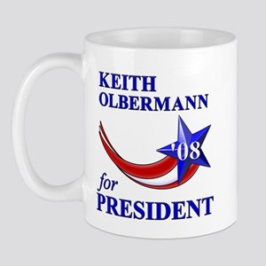 Keith Olbermann for President Mug