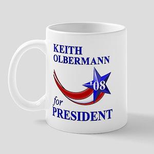 Keith Olbermann for President Mug