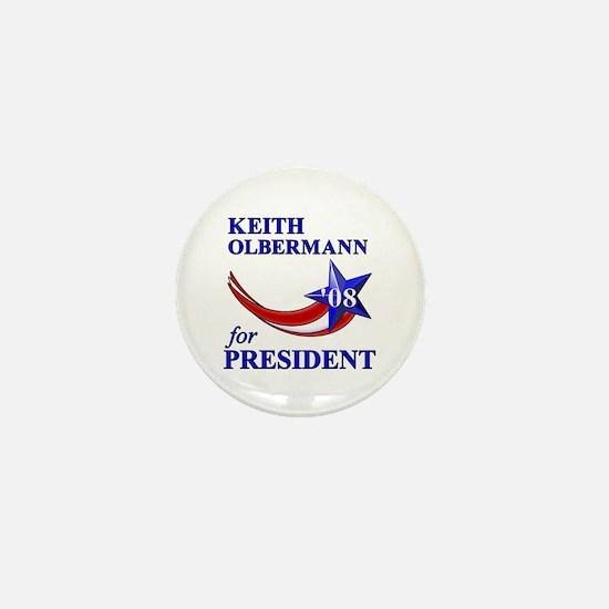 Keith Olbermann for President Mini Button
