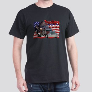Trucking USA Dark T-Shirt