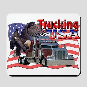Trucking USA Mousepad