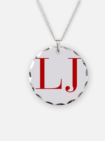 LJ-bod red2 Necklace