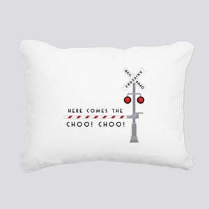 Here Comes Rectangular Canvas Pillow