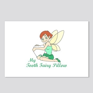 TOOTH FAIRY PILLOW Postcards (Package of 8)