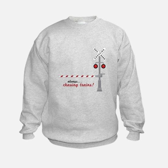 Chasing Trains! Sweatshirt