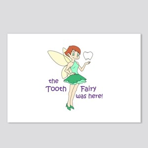 TOOTH FAIRY WAS HERE Postcards (Package of 8)