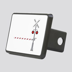 Railroad Crossing Hitch Cover
