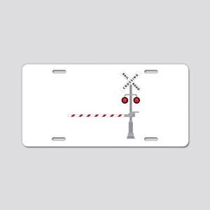 Railroad Crossing Aluminum License Plate
